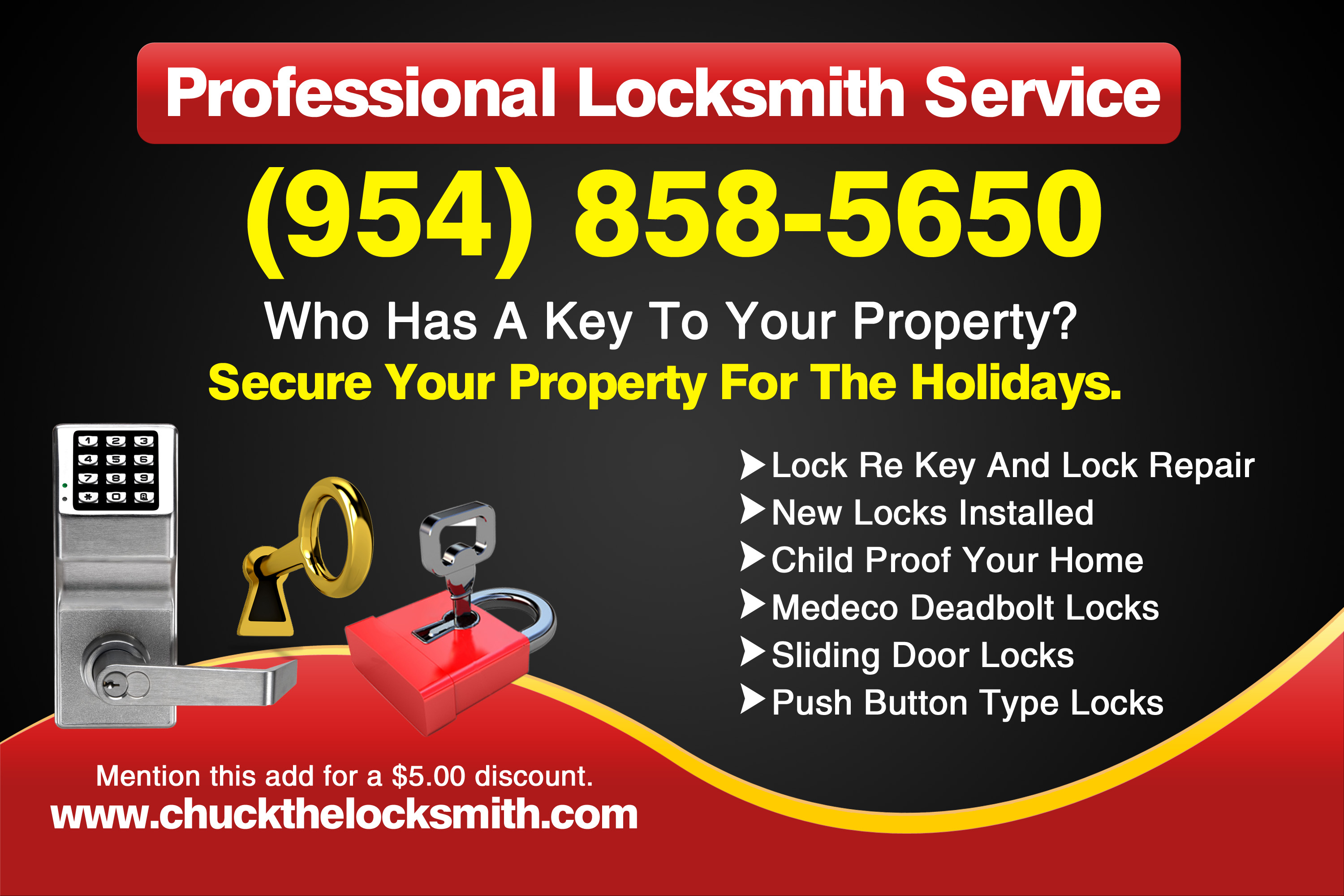 Fort Lauderdale Locksmith Services